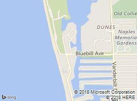 Map Naples condo 1 Bluebill Ave